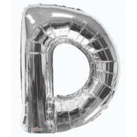 114 87cm Letter D Foil Balloon Silver 1.jpg