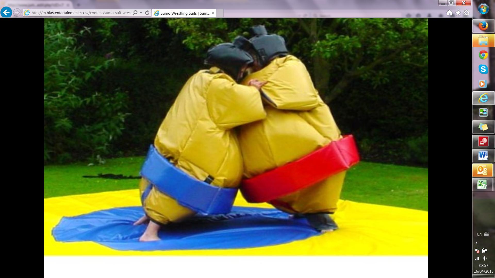 Suma Wrestling Suits #119
