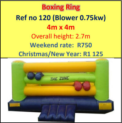 Boxing Ring #120