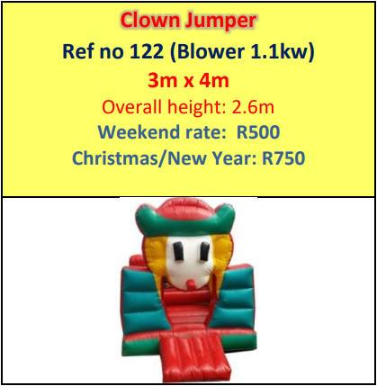 Clown Jumper #122