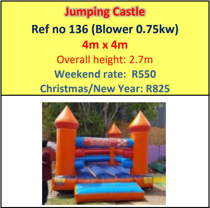 Jumping Castle #136