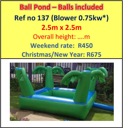 Ball Pond - Balls included #137