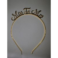 3073 Miss To Miss Head Band Gold