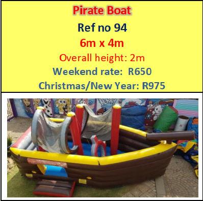Pirate Boat #94