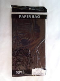 Cap 4592 Paper Bag Black