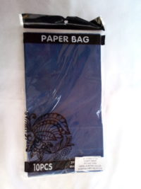 Cap 4592 Paper Bag Cobolt Blue