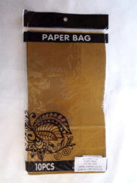 Cap 4592 Paper Bag Gold