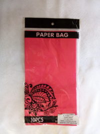 Cap 4592 Paper Bag Hot Pink