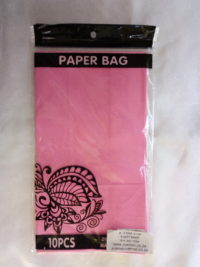 Cap 4592 Paper Bag Ice Cream Pink