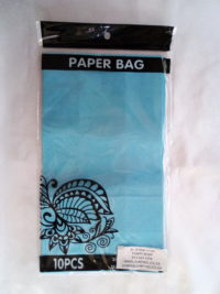 Cap 4592 Paper Bag Light Blue