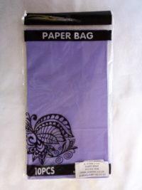 Cap 4592 Paper Bag Lilac
