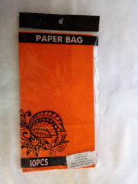 Cap 4592 Paper Bag Orange