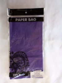 Cap 4592 Paper Bag Purple