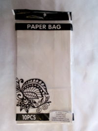 Cap 4592 Paper Bag White