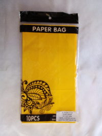 Cap 4592 Paper Bag Yellow