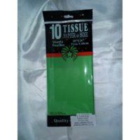 Tissue Paper Green